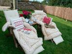 Relax in your own private garden