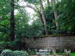 Enjoy the park and gardens of the Chateau des Sablons.