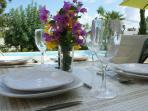 If you don't feel like eating out enjoy alfresco meals on the patio. Our well appointed kitchen has