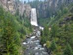 Literally hundreds of hike and bike trails with beautiful vistas - Tumalo Falls