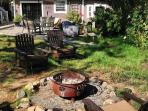 The Carriage House fire pit