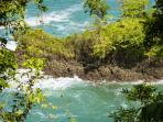 View from hike in Manuel Antonio national park.