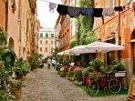 Apartment in Trastevere, hearth of Roman nightlife