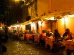 Trastevere in the night