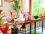 Casa Exotica: Living Room