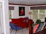 The Vacation Cottage TV room