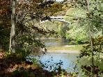 On Sugar Creek, scenic, fishing, canoeing, kayaking
