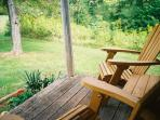Front Porch for Relaxing and Nature Watching