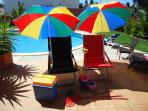 Beach Equipment For Our Guests