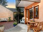 Deck to Courtyard