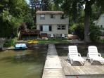 House View From Lake