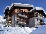Designer Alpine Chalet with Magical Views