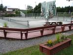 8 Clay Tennis Courts