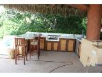 Bar area with Gas Grill
