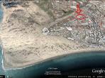 Location at Google earth