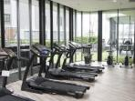Fitness center also available on 8th floor of the next building. It is provided for all guests.