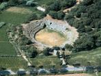 Sutri Roman theatre