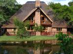 Chalet 234 overlooking one of the many small dams at Kruger Park Lodge