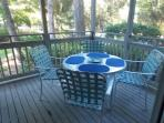 Relax on screened in patio... No worries about mosquitos!
