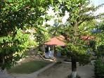 exterior of cottage de tamboo