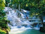 Dunns River Falls 10 mins away