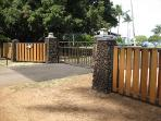 new Private gated entry