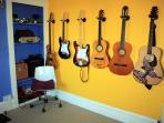 And even more guitars!