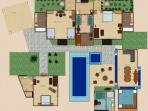 villas plan