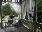 Wrap Around Porch with swing