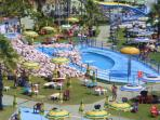 Water park 25 kilometers from Cori
