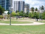 Condado Lagoon Park, next to the apartment