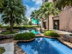 Refreshing and luxurious swimming pool