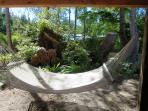 Relax in the hammock!