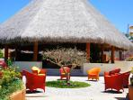 Seating and Palapa