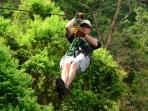 If I can zip-line so can you..great fun and my rental provides discounts