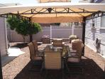 Gazebo and Patio Furniture.