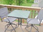 Master bedroom balconey deck