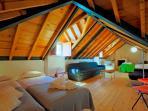 double beds mezzannine