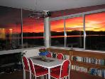 Amazing sunrises from the kitchen table