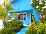 Entree Villa Blou Curacao