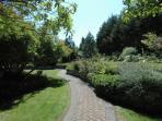 Beautiful gardens at Miraloma