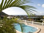 Scenic pool view.