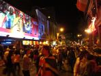 Long Street in party mood
