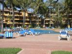 Los Tules features 7 pools and tennis courts
