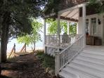 Beach house, side stair
