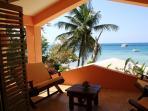 Private master suite balcony