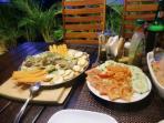Incredible gourmet cuisine