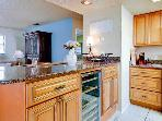 Fully-Equipped Kitchen includes Wine Cooler