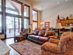Secluded townhouse with sweeping mountain views, home theater, hot tub, and gondola parking passes (game room, views, spacious) - Whispering Pines South