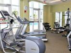 Ariel Dunes exercise room